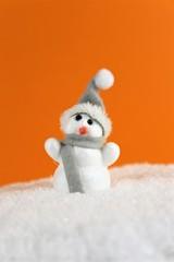 An Image of a snowman