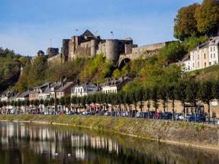 Burg Bouillon in Belgien
