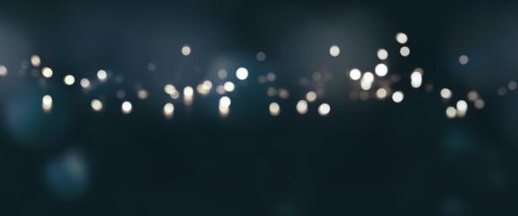 Dark blue background with silver lights