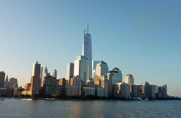 Siluette von New York