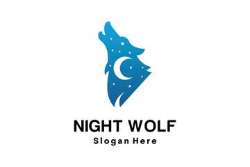 NIGHT WOLF LOGO DESIGN