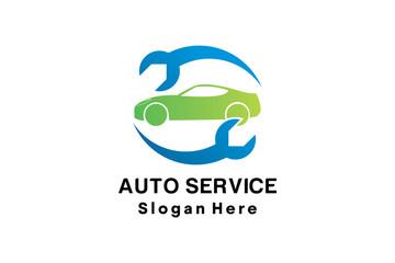 AUTO SERVICE LOGO DESIGN