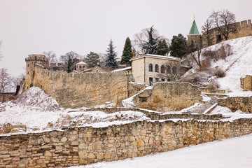 Fortress under the snow