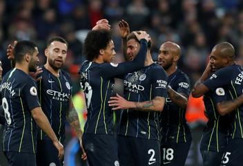 Premier League - West Ham United v Manchester City