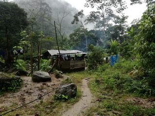 Abitazione nel cuore dell'Amazonia, Ecuador