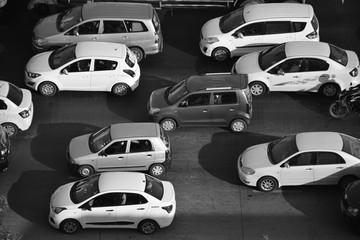 Monochromatic traffic image