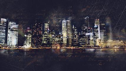 Skyline Grunge