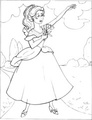 Coloring the Beautiful Princess 30