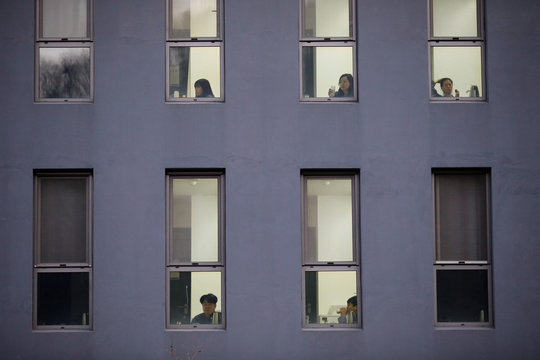The Wider Image: South Koreans lock themselves up to escape prison of daily life