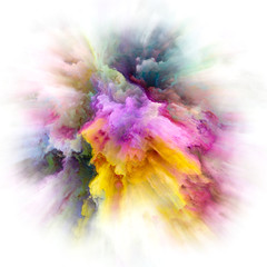 Petals of Color Splash Explosion