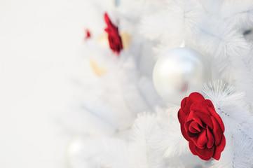 Christmas holidays white background