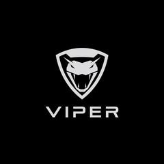 viper shield tactical logo design