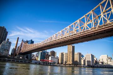 Queensboro bridge at view