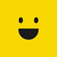Smile icon. Happy face symbol.Smile icon for your web design.