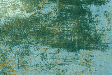 green and old texture painted plaster decay .