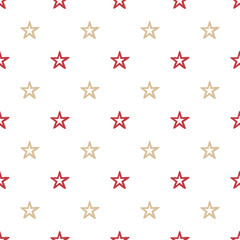 Colorful stars pattern, abstract background