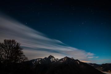 Nuit en Montagne de Haute Savoie
