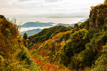 寒霞渓の景観