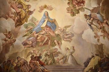 Fresque de la cathédrale de Tolède, Espagne