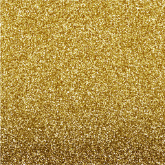 Glitter texture gold background design, vector illustration