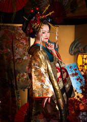 Asian female in Kimono