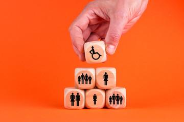 Inklusion von behinderten Menschen in unsere Gesellschaft
