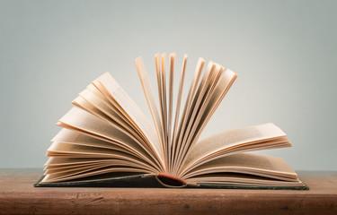 geöffnetes Buch hell