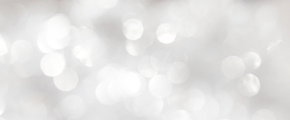 Shiny white blur background. Template for New Year's postcard.