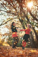 Cheerful Girls