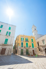 Molfetta, Apulia - Sunshine in the historical alleyways of Molfetta
