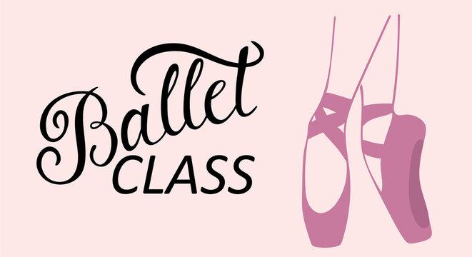 Ballet class logo