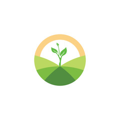 Grow Up logo, Environmental care logo