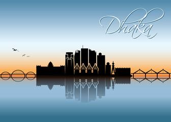 Dhaka skyline - Bangladesh