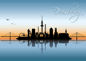 Duisburg skyline - Germany