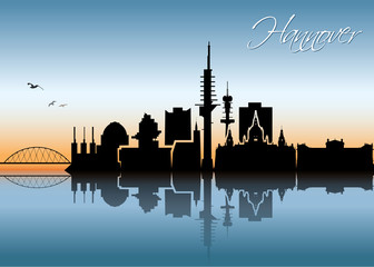 Hanover skyline - Germany