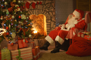 Santa Claus Christmas Eve