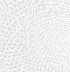 Spirals, rings and loops with texture on background