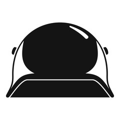 Soldier helmet icon. Simple illustration of soldier helmet vector icon for web design isolated on white background