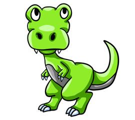 Green Baby T Rex