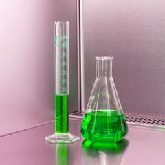 laboratory equipment - erlenmeyer flask