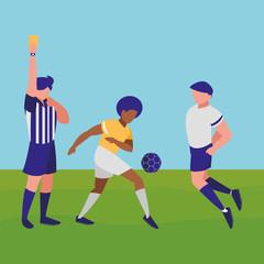 Soccer referee design
