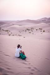 Aussicht in der Wüste
