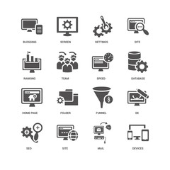 Devices, Database, Speed, Seo, De, Blogging, Ranking, Home page,