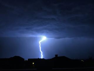 Lightning strike Colorado Springs
