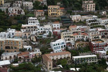 Beautiful cliffside village of Positano on Italy's Amalfi Coastline