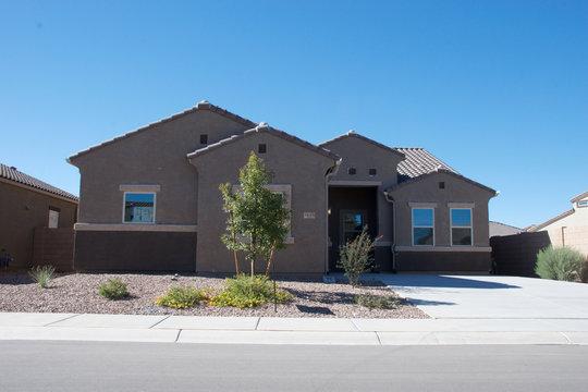 New Southwestern Home