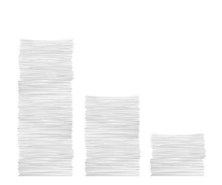 paper stack set