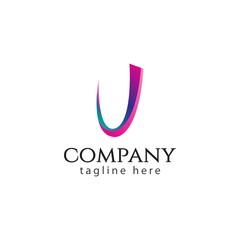 J Company Logo Vector Template Design Illustration