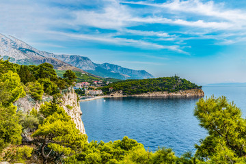 Croatia. Dubrovnik. Panoramic view of the old town