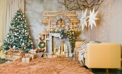Christmas photoscene Fototapete